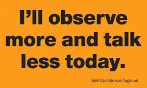 talk-observe